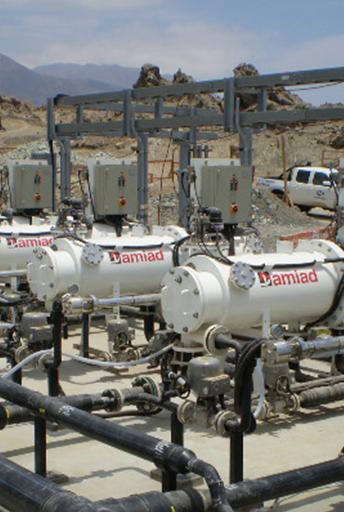 Préfiltration vers RO en vue de la production d'eau potable, Chili